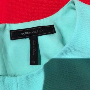 BCBGMaxAzria Dresses - BCBG dress - size 6 - colourblock